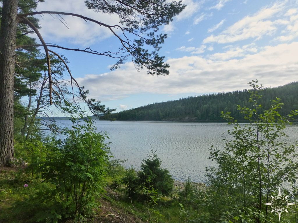 Morgendlicher Ausblick von Tärnättholmarna