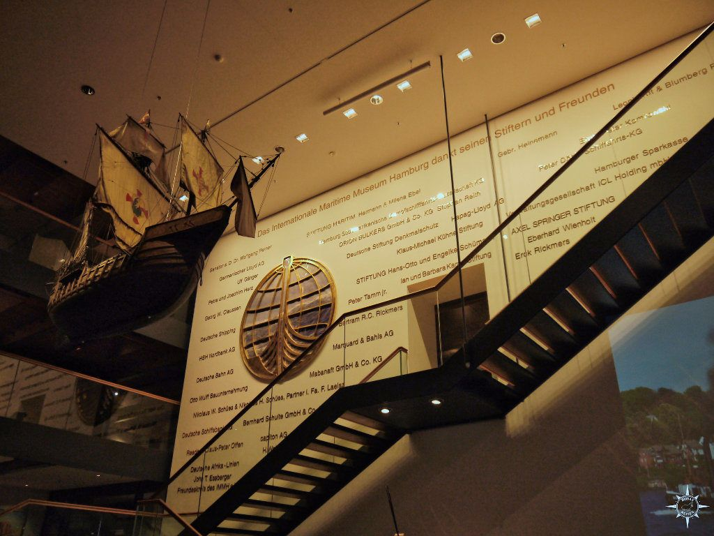 Foyer des Schifffahrtmuseums Hamburg