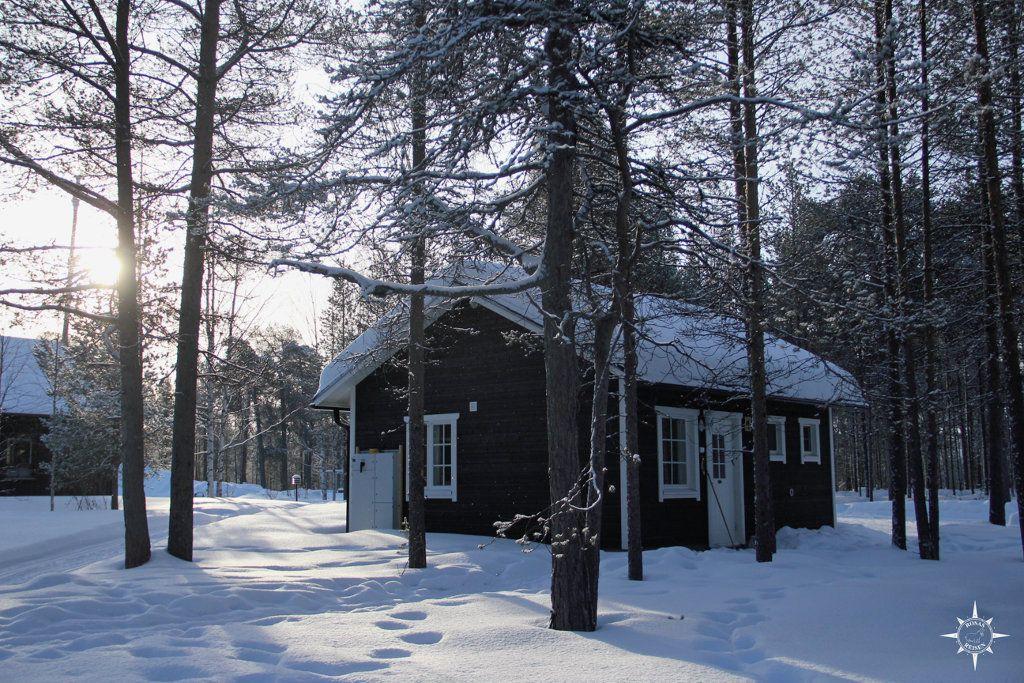 Unser Heim für die Woche am Inari-See