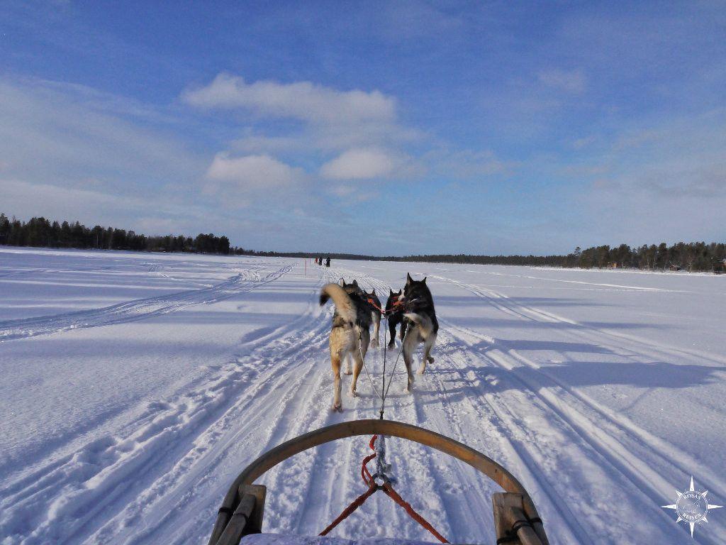 Auf dem Inari-See