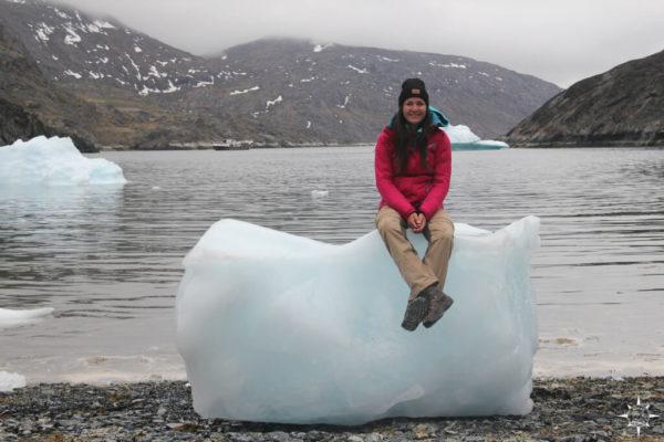 Eisberg Lange Bugt Grönland